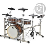 Gewa G9 E-Drum Set Pro L6 Walnut