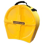 "Hardcase 14"" Snare Case F.Lined Yellow"