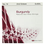 Bow Brand Burgundy Ped. 2nd G Gut No.13