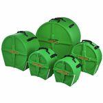 Hardcase HRockFus3 F.Lined Set L.Green