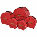 Hardcase HRockFus3 F.Lined Set Red