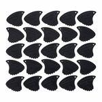 Sharkfin Pick Relief X-Hard Black 25