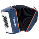 Hohner XS Accordion Button blue