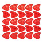 Sharkfin Pick Goldprint Soft Red 25
