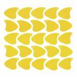 Sharkfin Pick Relief Medium Yellow 25