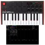AKAI Professional MPK Mini MK3 LiveLoop Lite Set