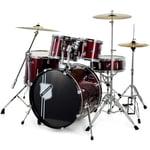 Millenium Focus 22 Drum Bundle Red