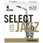 DAddario Woodwinds Select Jazz Filed Alto 4M