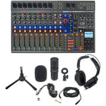 Zoom LiveTrak L-12 Mic Set