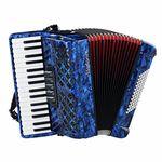 Startone Piano Accordion 72 Blue MKII