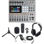 Zoom PodTrak P8 Podcast Mic Set