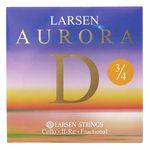 Larsen Aurora Cello D String 3/4 Med.
