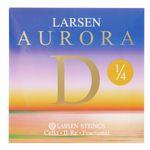 Larsen Aurora Cello D String 1/4 Med.