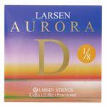 Larsen Aurora Cello D String 1/8 Med.