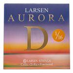 Larsen Aurora Cello D String 1/16 Med