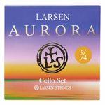 Larsen Aurora Cello Strings Set 3/4 M