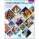Hal Leonard 40 Most-Streamed Disney Songs