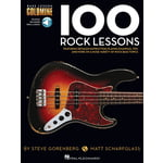 Hal Leonard 100 Rock Lessons Bass