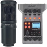 Zoom PodTrak P4 Podcast Mic Set