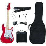 Kramer Focus Electric Player Pack Red