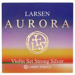 Larsen Aurora Violin Set D Silver Str