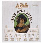 La Bella 710-12M Silk & Steel