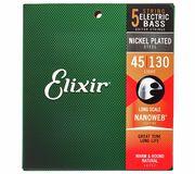 Elixir 14202 Nanoweb 5-String Light