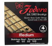 Fodera 4-String Set Standard Steel