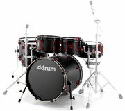 DDrum Hybrid Kit Satin Black