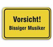 Bandshop Sticker Vorsicht Bissiger M.