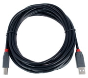 Lindy USB 2.0 Typ A/B 5m black
