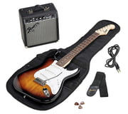 Fender SQ Strat Pack SSS BSB GB