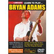 Music Sales Bryan Adams Learn To Play DVD