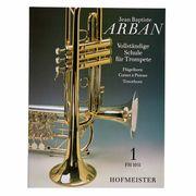 Friedrich Hofmeister Verlag Arban Schule für Trompete Bd.1