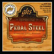 GHS Pedal Steel Set ST C6 Stainl.
