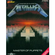 Music Sales Metallica Master Of Puppets