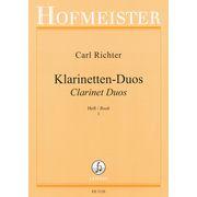Hofmeister Verlag Richter Clarinet Duos 1