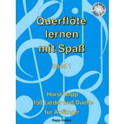 Horst Rapp Verlag Querflöte lernen mit Spaß Vol1