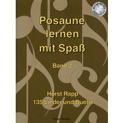 Horst Rapp Verlag Posaune lernen mit Spaß 2