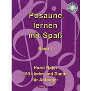 Horst Rapp Verlag Posaune lernen mit Spaß 1