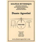 Dante Agostini Solfege Rhythmique 1