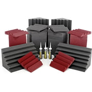 Auralex Acoustics Roominators Alpha-DST Burgundy