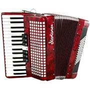 Startone Piano Accordion 72 Red B-Stock
