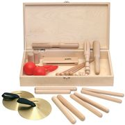 Goldon Percussion Set 2 in Wood Box