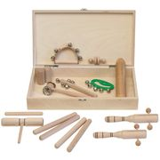 Goldon Percussion Set 3 in Wood Box