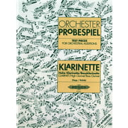 C.F. Peters Orchester Probe Klarinette
