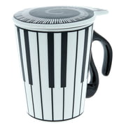 Music Sales Cup with Lid Keyboard