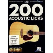 Hal Leonard 200 Acoustic Guitar Licks