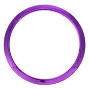 "Bass Drum O's 6"" Purple Chrome round HCP6"