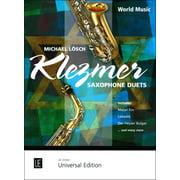 Universal Edition Klezmer Saxophone Duets